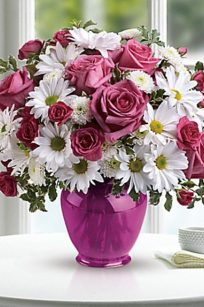 Pink Daisy Delight by Teleflora